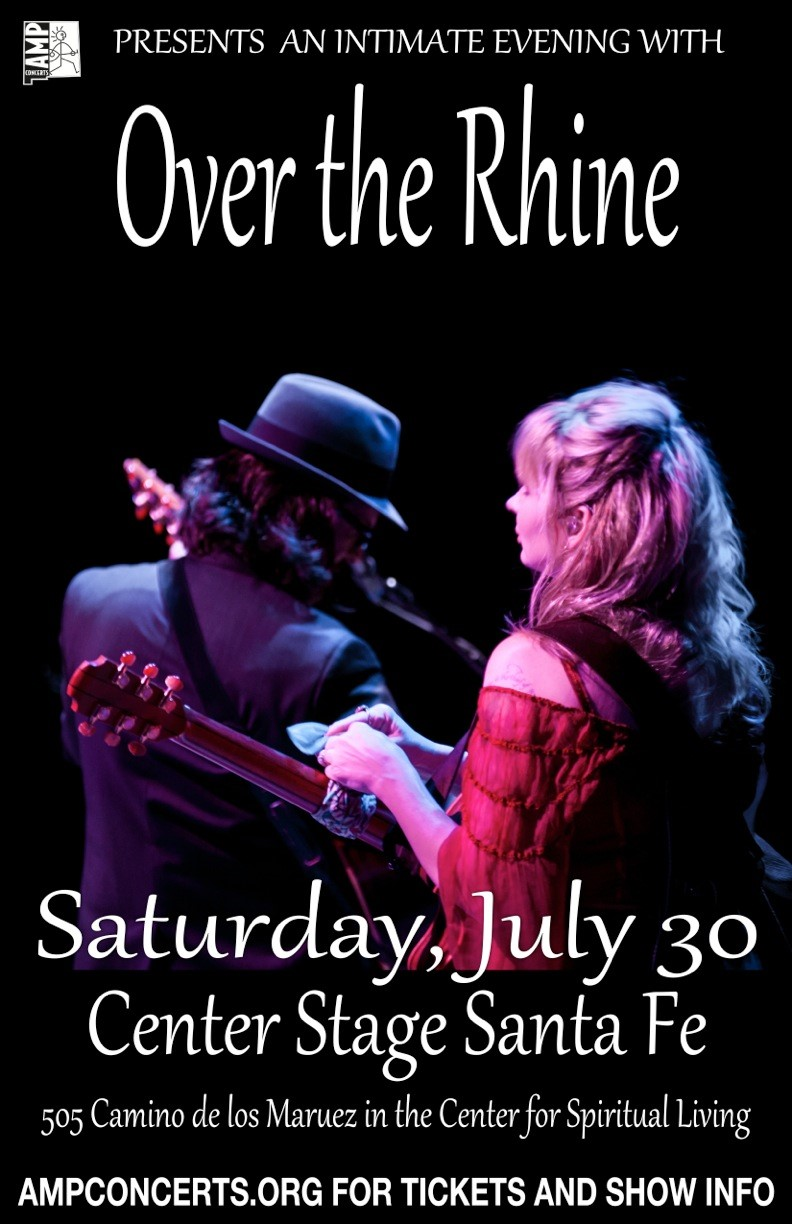 """Over the Rhine"" - Concert at Center Stage @ Center Stage at SF Center for Spiritual Living 