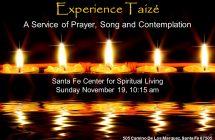 This Sunday, Experience Taizé!